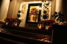 vignette design: A Candlelight Welcome