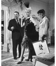 EDITH HEAD. Brilliant costume designer!