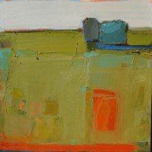 "Meadow's Color Block by Sandy Ostrau 36""x36"""