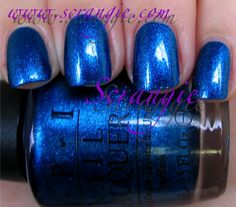 Scrangie: OPI Miss Universe Collection Summer 2011 Swimsuit...Nailed It!