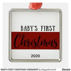 BABY'S FIRST CHRISTMAS ORNAMENT. This adorable BABY'S FIRST CHRISTMAS ornament is a great gift for family, friends, co-workers, etc. DAILY DEALS! #babysfirstchristmasornament #babysfirstchristmas #christmasgift #firstchristmas #babygift #ornament #Christmas #firstchristmas Our First Christmas Ornament, Babies First Christmas, Christmas Ornaments, New Home Gifts, Gifts For Family, Great Wedding Gifts, Great Gifts, Family Organizer, Christmas Card Holders