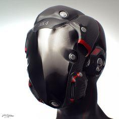 Motorcycle Helmet Zbrush by Kratoseum
