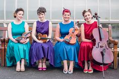 The lovely ladies from Cairn String Quartet #strings