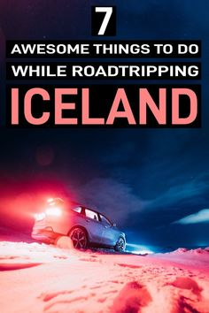 road trip tips that'll make your Iceland road trip ten times better! These 7 tips include budget tips where to go what to eat on the road and what to look out for. Iceland Road Trip, Iceland Travel Tips, Europe Travel Tips, Japan Travel, Travel Destinations, Croatia Travel, Hawaii Travel, Holiday Destinations, Italy Travel