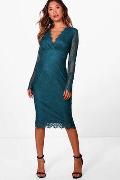 2429c6a69f050 Boutique Dulce Eyelash Lace Midi Dress Bodycon Fashion, Lace Midi Dress,  Dress Up,