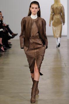 Calvin Klein Collection Pre-Fall 2013 Fashion Show - Andie Arthur