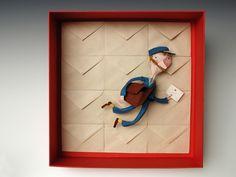 436232399 02d3df54b1 b Dominique Donois Makes Beautiful Sculptures in Paper Mache.