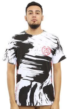 Stussy, Painted T-Shirt - White - T-Shirts - MOOSE Limited