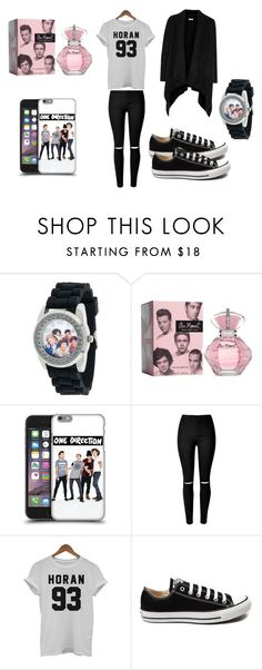 """1d fangirl kit"" by medster ❤ liked on Polyvore featuring Converse, Joie, women's clothing, women, female, woman, misses and juniors"