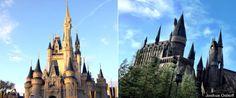 Disney World vs. Universal -- a comparison