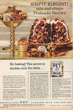 pet no bake festive fruitcake