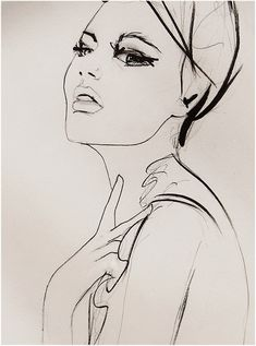 Substitute   Fashion Illustration Art Print by LeighViner on Etsy, $28.00