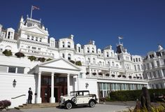 The Grand Hotel  is a perfect wedding venue in Eastbourne, East Sussex, South East England.  #weddingvenueeastsussex