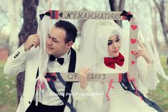 just married....adorable#Hijab