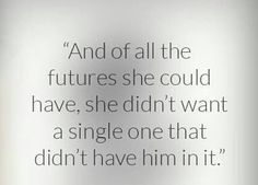 Of all the futures she could have had