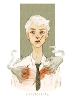 My heart hurts for Draco Malfoy. Love him so much