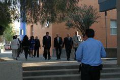 Invitados especiales a la ceremonia de reinauguración del CICBI (13/02/14).