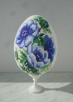 Пасхальное яйцо   biser.info - всё о бисере и бисерном творчестве