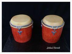 Custom Cakes, Music Instruments, Congas, Personalized Cakes, Personalised Cake Toppers, Musical Instruments