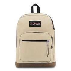 Right Pack 15 Inch Laptop Backpack - Any Occasion Daypack Soft Tan Shoes-Jewelry Gear Shoes-Jewelry Gear Duffels Care Bags Shoes-Jewelry Gear Jansport Right Pack, Jansport Backpack, Adidas Backpack, Stylish Backpacks, Cool Backpacks, Leather Backpacks, Best Laptop Backpack, Laptop Bags, Rolling Backpack
