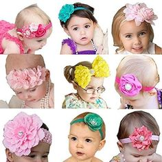 How to Make Baby Headbands {Satin and Felt Flowers}   Fabulessly Frugal