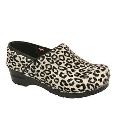 Take a look at this White Professional Safari Clog - Women by Sanita on #zulily today!