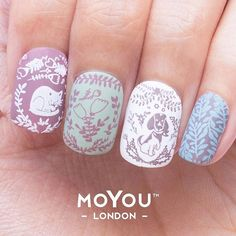 """""""Cute mani? Quick & easy stamping? Nailed it! This is one sneak peak of one of the manis that you can accomplish with the Enchanted Starter Kit featuring…"""""""