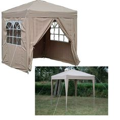 Outdoor Pop Up Gazebo Waterproof Canopy Tent Patio Gazebos Kit Folding Panel Bbq  sc 1 st  Pinterest & Outdoor Pop Up Gazebo Patio Canopy Tent Rain Sun Protection Picnic ...