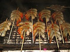 A Typical Aussie Barbecue - Shrimp Recipes On The Barbie!
