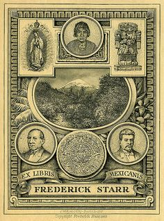 [Bookplate of Frederick Starr] by Pratt Libraries, via Flickr