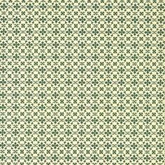 Green Kitchen Flower Print Italian Paper ~ Carta Varese Italy
