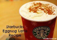 Starbucks eggnog latte Recipe