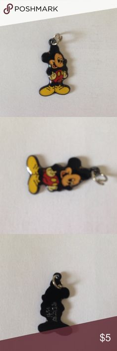 Mickey Mouse pendant Add Mickey to a necklace or bracelet! Who doesn't Love Mickey?! Disney Jewelry Necklaces