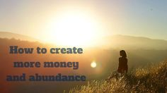 Want to create more #money and #abundance in life? Here's how you can do this: http://brandonline.michaelkidzinski.ws/how-to-create-more-money-and-abundance/