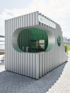 Over/Under Kiosks | Projects | Woods Bagot