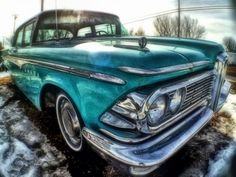 #Edsel in Fisheye   #olloclip #iphoneography