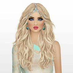 Covet Fashion Games, Love Fashion, Fashion Art, Hijab Fashion, Pretty Art, Cute Art, Fotos Pin Up, Virtual Girl, Girly M