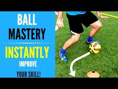 This video breaks down a soccer move every player should master. Make sure you are doing this drill with both feet.