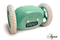 Aqua Clocky  The Runaway Alarm Clock  by Gauri Nanda