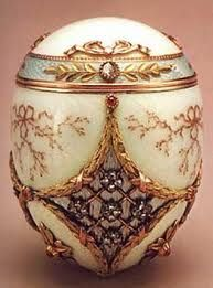Egg made in 1913 by order of the Russian Emperor Nicholas II.