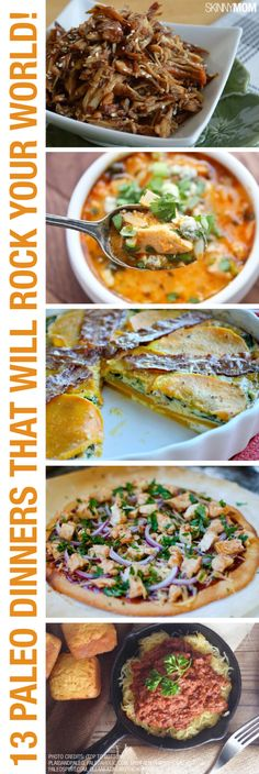 Paleo recipes everyone will love. The lasagna one would work quite well -- tells you how to make cashew 'cheese' (Paleo Lunch Dinner) Paleo On The Go, Paleo Whole 30, How To Eat Paleo, Going Paleo, Whole Food Recipes, Diet Recipes, Cooking Recipes, Healthy Recipes, Paleo Meals