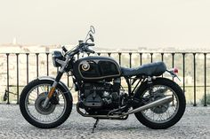 A BMW R65 restomod inspired by the legendary late 1960s Alpina 2002Ti car.