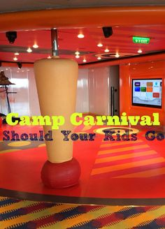 Carnival Cruise Camp Carnival on the Carnival Magic Cruise Ship #CruisingCarnival