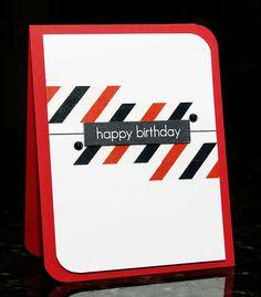 WaterDots: Happy Birthday, Neat and Tangled, Masculine