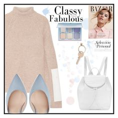 """""""Classy&Fabulous!👋🏼"""" by alexandraofficialpage ❤ liked on Polyvore featuring Victoria Beckham, Nancy Gonzalez, Maison Margiela, Anastasia Beverly Hills and neutrals"""