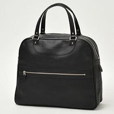 Amazon.co.jp: JACQUES LE CORRE【ジャック ル コー】ラージハンドバッグ リスボン 102-5 EMBOSS carf lether BLACK(ブラック): 服&ファッション小物