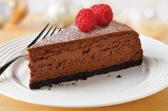 Extasiante cheesecake de chocolate Receta - Comida Kraft