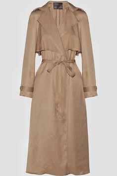 Lanvin wrap coat.