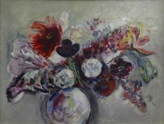 Margareta Sterian, #flower #painting    ...BTW,Please Check this out:  http://artcaffeine.imobileappsys.com