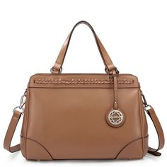 SALE 20 OFF Tan Authentic Leather Handbag Hobo by Fungalicious, $85.00